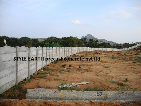 Compound Wall In Bangalore, RCC Compound Wall U0026 Concrete Compound Wall  Manufactures In Bangalore, India